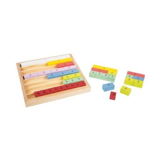 Plateau de Fraction Montessori 2
