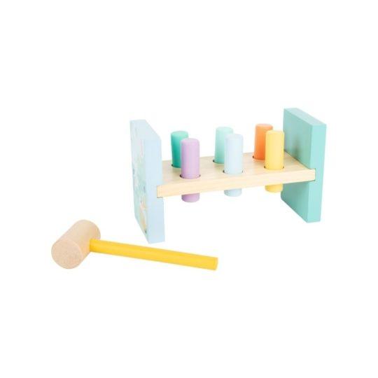 banc a martelet pastel montessori 1