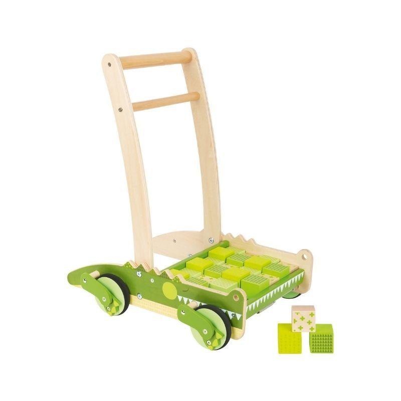 chariot de marche montessori crocodile 1