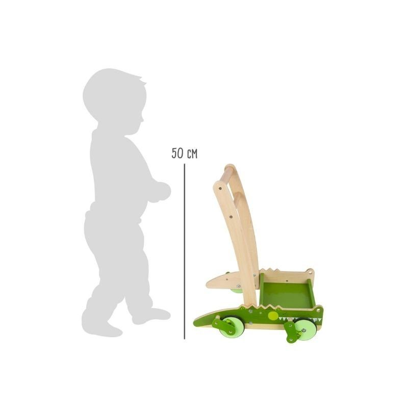 chariot de marche montessori crocodile 2