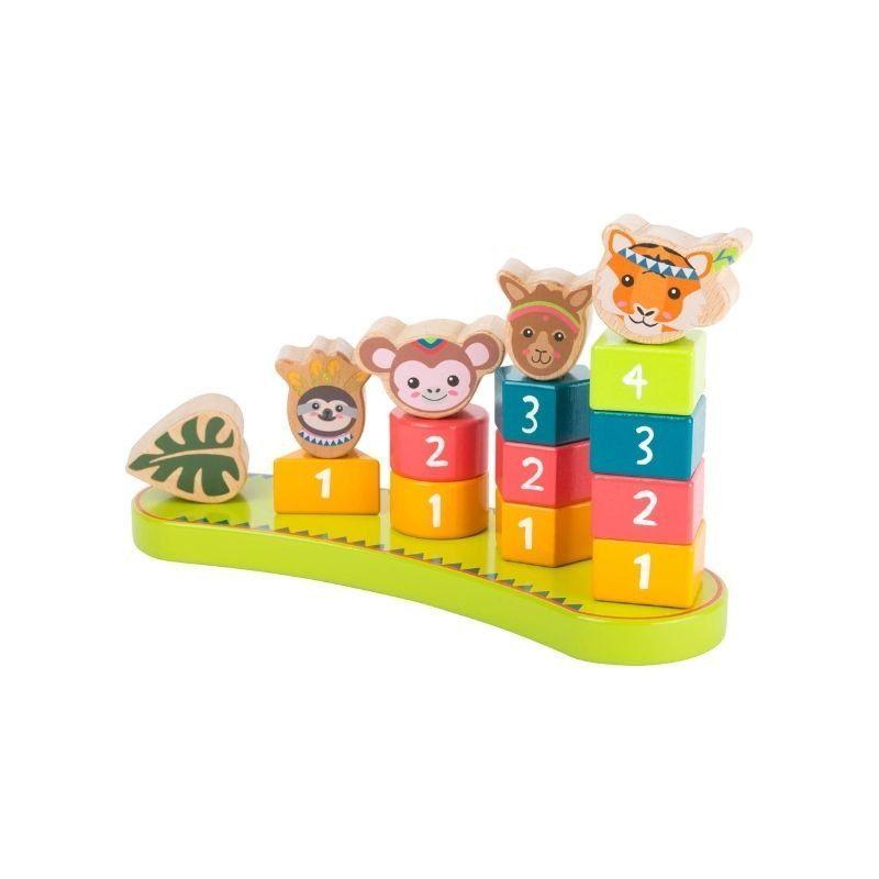 jeu a empiler montessori jungle 3