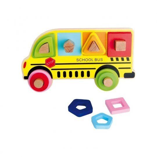 puzzle a encastrer bus