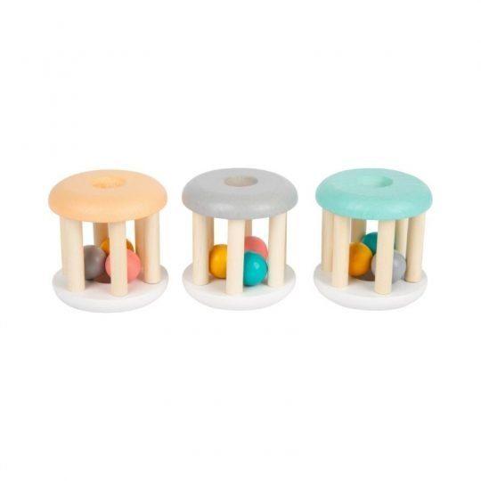 hochet montessori pastel 1