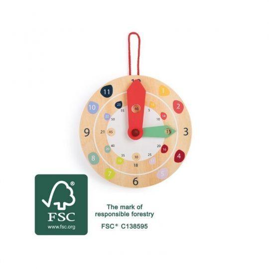 horloge montessori educative 1
