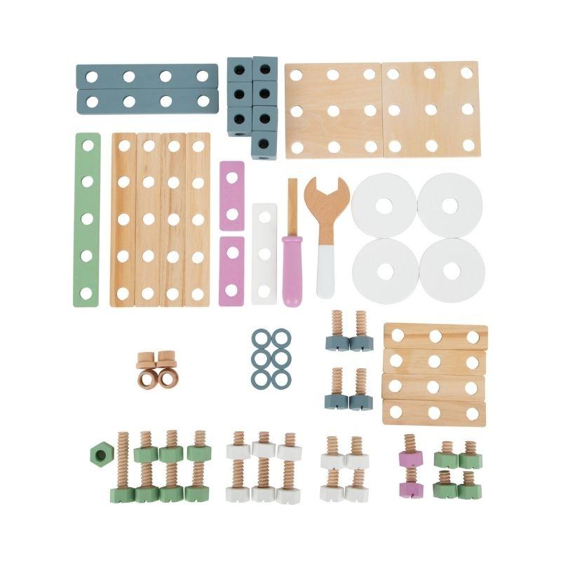 kit de construction pastel 3